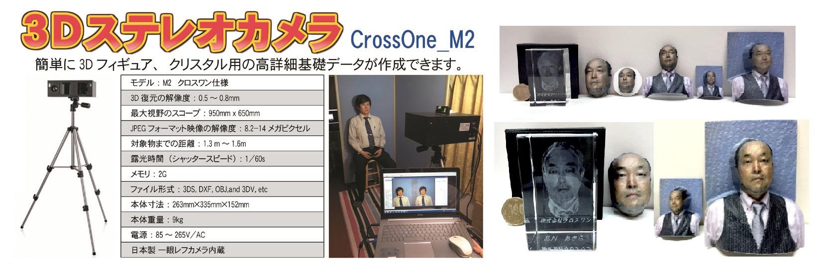 3Dステレオカメラ M2